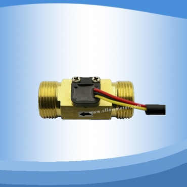 Hall effect flow sensor